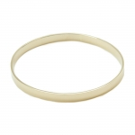 Medium Gold Bangle Bracelet
