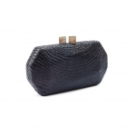 Black Handwoven Clutch