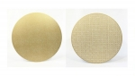 Gold Shimmer \Sayagata\ Reversible Placemats, Set of 4