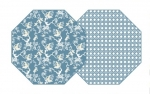 Storm \Chinois\ Reversible Placemats, Set of 4