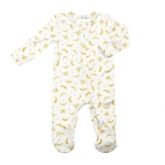 Bananas Zipper Footie, 3-6 Months