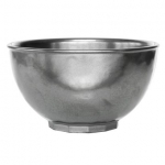 Pewter Stoneware Cereal or Ice Cream Bowl