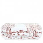 Country Estate Winter Frolic Hostess Tray