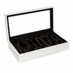 White Eyeglass Box, Large