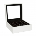 White Eyeglass Box, Medium