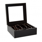 Black Eyeglass Box, Medium