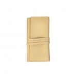 Abby Travel Jewelry Roll, Gold