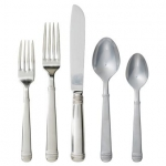 Le Panier Bright Satin Five Piece Place Setting
