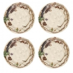 Forest Walk Party Plates, Set of 4