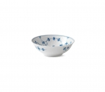 Blue Fluted Plain Cereal Bowl