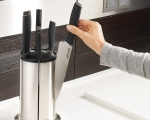Stainless Knives Carousel Set