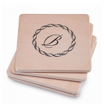 Square Sandstone Coasters - Personalized, Set of 4