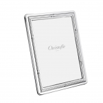 Rubans Silver Plated 4x6 Picture Frame