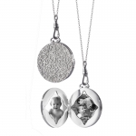 Signature Large Round Locket
