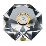 Facets Diamond Clock