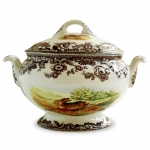 Woodland Rabbit and Quail Soup Tureen and Cover