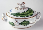 Green Leaf Oval Tureen