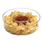 Manhattan Chip N Dip Glass