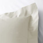 Luca Ivory King Flat Sheet