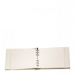 Creme Guest Book with Tassel