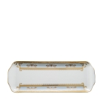 Orsay Powder Blue Rectangular Cake Platter