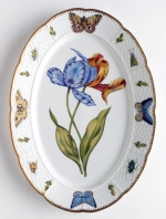 Old Master Tulips Oval Platter