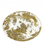 Gold Aves Large Oval Platter