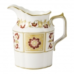 Derby Panel Red Creamer Jug