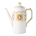 Derby Panel Red Coffee Pot