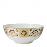 Derby Panel Red Salad Bowl
