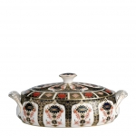 Old Imari Covered Vegetable Dish