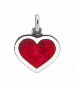 JUST ARRIVED 2021! Red Enamel Heart Pendant