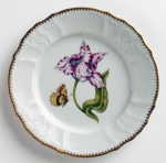 Old Master Tulips Pink and White Tulip Salad Plate