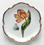 Old Master Tulips Yellow and Red Tulip Bread and Butter Plate