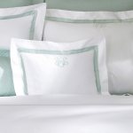 Lowell White/Ivory King Duvet Cover