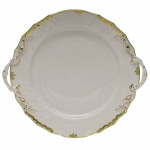 Princess Victoria Green 12\ Chop Plate with Handles