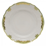 Princess Victoria Green Bread & Butter Plate