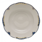 Princess Victoria Blue Rim Soup Plate