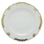 PRINCESS VICTORIA GRAY SALAD PLATE