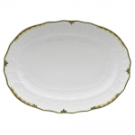 Princess Victoria Dark Green Oval Platter