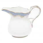Fish Scale Light Blue 6 Ounce Creamer