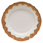 Fish Scale Rust Bread and Butter Plate