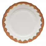 Fish Scale Rust Dinner Plate