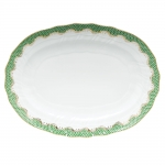 Fish Scale Jade 15\ Oval Platter