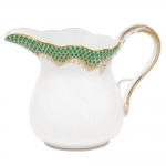 Fish Scale Jade 6 Ounce Creamer