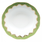 Fish Scale Evergreen Rim Soup Plate