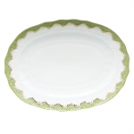 Fish Scale Evergreen 15\ Oval Platter