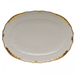 Princess Victoria Rust Oval Platter