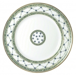 Allee Royale Dinner Plate Accented in 24K gold.