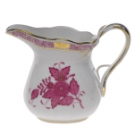 Chinese Bouquet Raspberry 4 Ounce Creamer